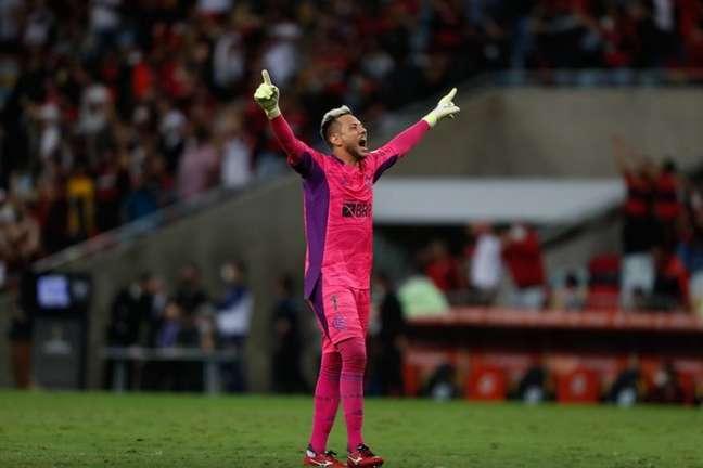 Diego Alves está de volta ao time (Foto: Gilvan de Souza/Flamengo)