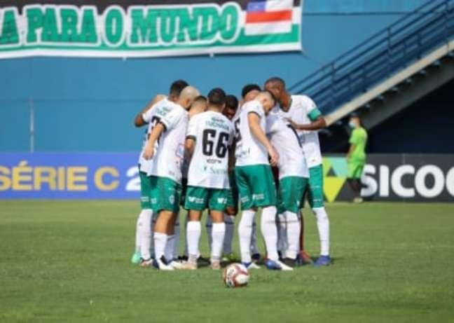 Time do Manaus FC (Foto: Divulgação/Manaus)