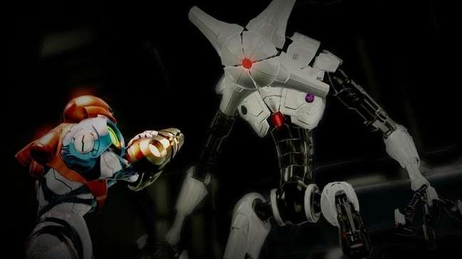 Os robôs E.M.M.I. são implacáveis
