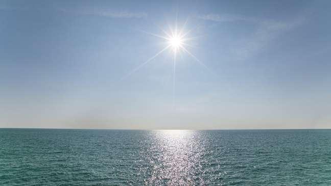 Cientistas detectaram redução de nuvens no Oceano Pacífico oriental.