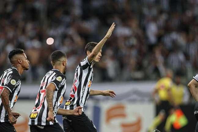 Nacho fez dois gols e deu uma assistência na partida, entrando no segundo tempo (Foto: Divulgação / Atlético-MG)