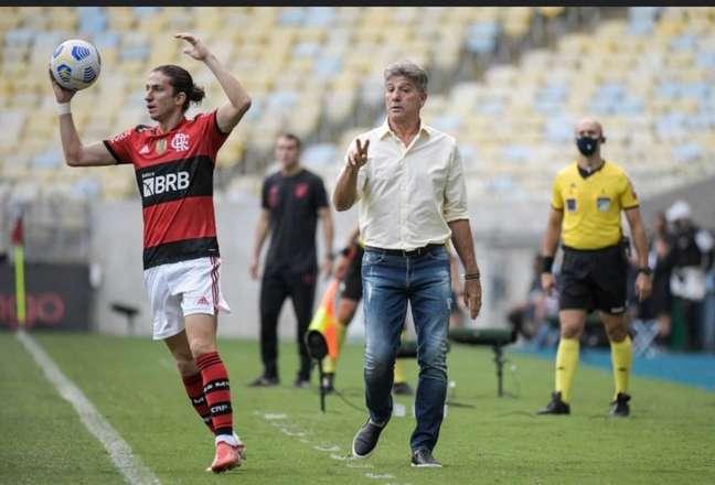 Renato Gaúcho vai para o 24º jogo sob o comando do Flamengo (Foto: Alexandre Vidal / CRF)