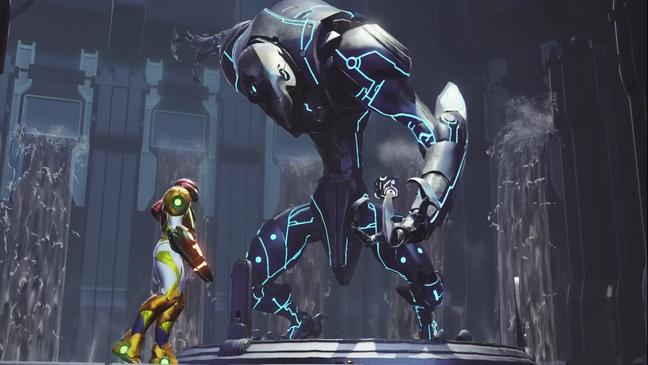 Batalhas desafiadoras aguardam em Metroid Dread