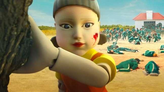 A aparência inocente da boneca já não engana mais ninguém