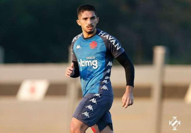 Andrey é jogador importante, mas ficou fora dos dois últimos jogos do Vasco (Foto: Rafael Ribeiro/Vasco)