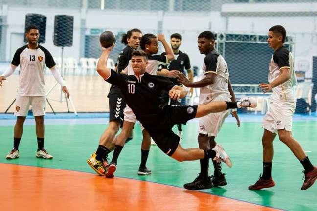 O Campeonato Brasileiro Juvenil de Handebol está sendo disputado no Rio de Janeiro(Divulgação/CBHb)