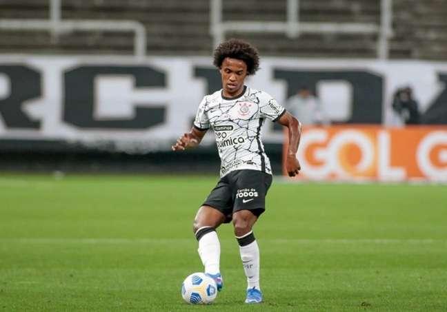Willian acabou sendo substituído com menos de dez minutos de jogo (Foto: Rodrigo Coca/Ag. Corinthians)