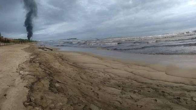Outras áreas da Venezuela foram afetadas por derramamentos e descargas de petróleo