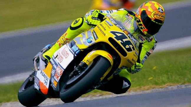 Valentino Rossi sagrou-se campeão das 500cc em 2001