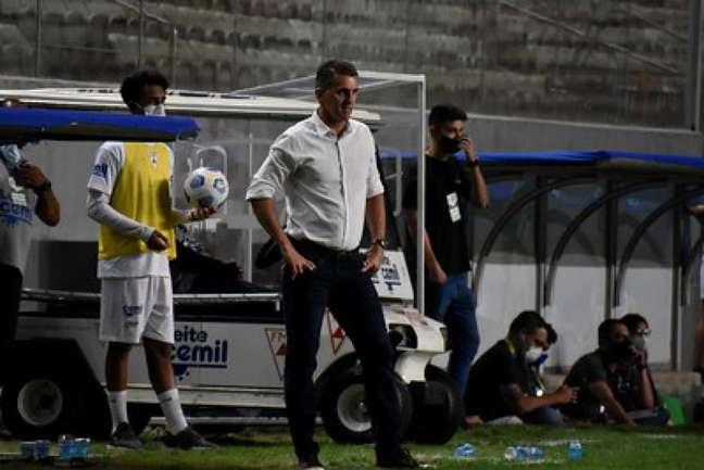 Mancini tem feito boa campanha no Coelho, consolidando uma reação que tirou o time da zona do rebaixamento- (Mourão Panda/América-MG)