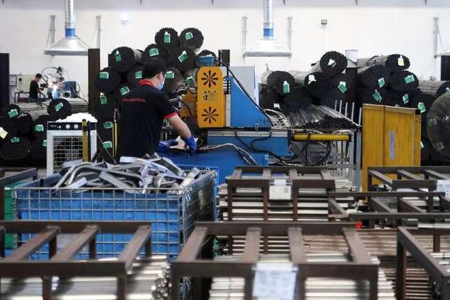 Fábrica da Kids II Inc em Jiujiang, China22/06/2021. REUTERS/Gabriel Crossley