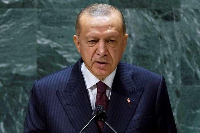 Presidente turco, Tayyip Erdogan 21/09/2021.   REUTERS/Eduardo Munoz/Pool