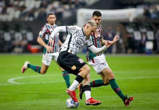 Corinthians acertou apenas um chute no gol do Fluminense (Foto: Rodrigo Coca/Ag. Corinthians)