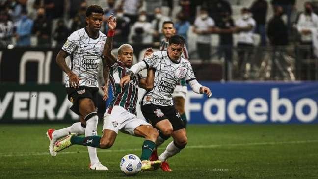 Fluminense está há três jogos sem vencer e fazer gols no Brasileirão (Foto: Lucas Merçon/Fluminense)