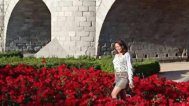 """""""Na Ponte de Toledo, onde conheci o jornalista"""", diz Rosa"""