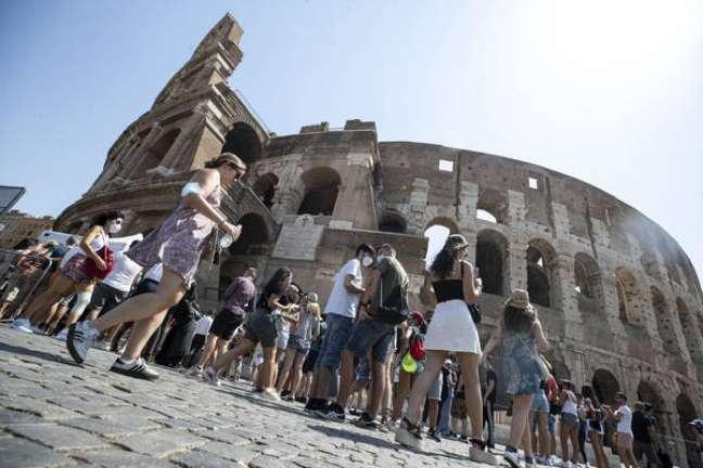 Menino fugiu porque queria ver o Coliseu de Roma