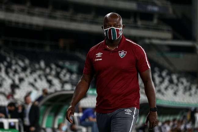 Marcão disse que pode promover mudanças na escalação do Fluminense (FOTO: LUCAS MERÇON / FLUMINENSE F.C.)