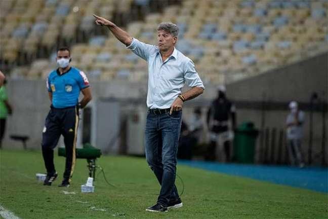 3 a 1: Renato Gaúcho comandou o Flamengo na vitória sobre o Juventude (Foto: Alexandre Vidal / Flamengo)
