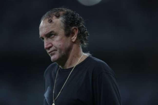 Cuca evitou um embate contra a arbitragem efocou em elogiar seus jogadores-(Pedro Souza/Atlético-MG)