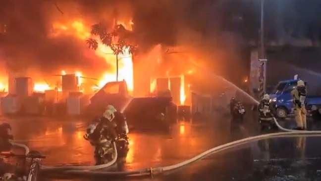 O incêndio deixou 41 feridos e provocou 46 mortes