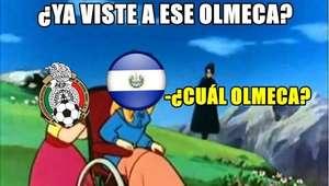 Memes celebran la clara victoria de México sobre El Salvador