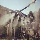 Las polémicas duchas para turistas de Auschwitz