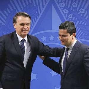 Após crise, Moro sugere alinhamento com Bolsonaro