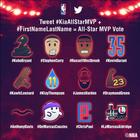 La NBA convierte a los jugadores del All-Star en emojis