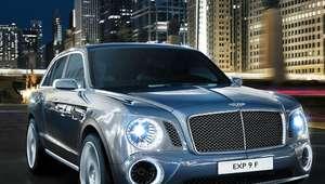 Bentley diseñando un SUV para llegar a 200 mph
