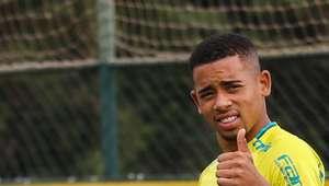 Jesus se despede do Palmeiras: 'a lembrança será eterna'
