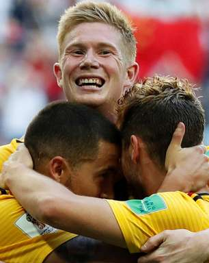 """Bélgica bate Inglaterra e coroa """"geração"""" com melhor Copa"""