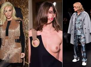 """Semana de Paris tem Kim, Zoolander e make """"duas caras"""""""