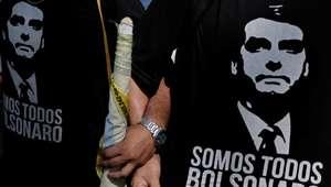 Ausente em debate, Bolsonaro foi o mais citado no Twitter
