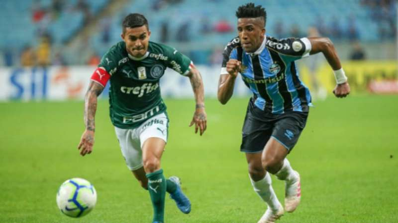 Com times alternativos, Grêmio e Palmeiras ficam no empate