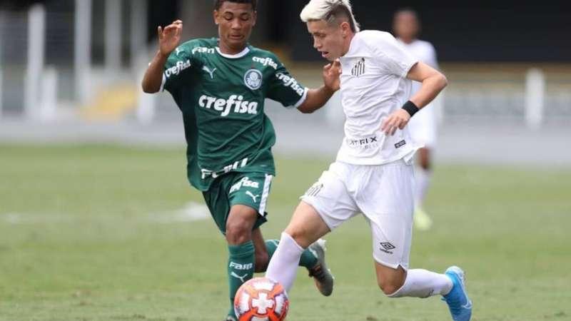 Santos e Palmeiras empatam no primeiro jogo da final do Paulista Sub-15 - Terra
