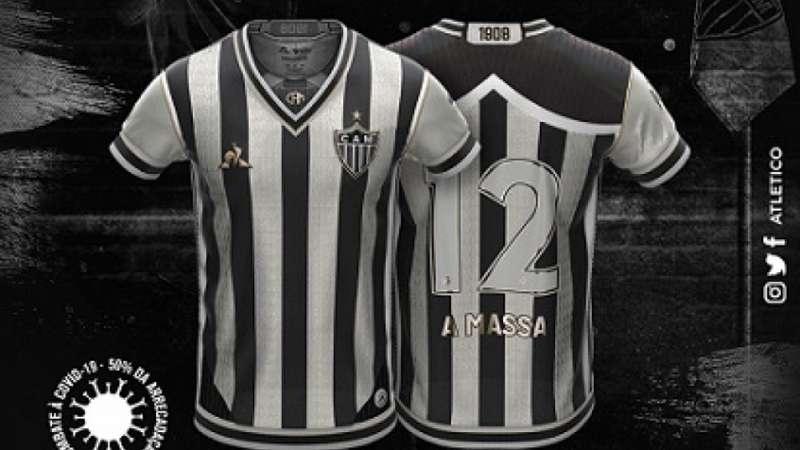 Atletico Mg Vende Mais De R 4 Milhoes Em Camisas Do Concurso Manto Da Massa Em Menos De 24h