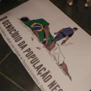 Maia e deputados condenam ataque a cartaz contra racismo