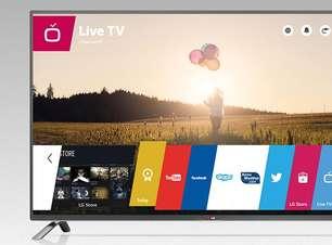 LG lança 'smart TVs' com sistema webOS a partir de R$ 2.199