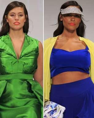 Londres fecha semana de moda com desfile plus size