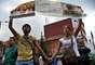 La gente en Santurban se opone a la explotación de oro por parte de Greystar.