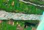En esta foto se ve el río Rakaia, en Nueva Zelanda, como una cinta azul y blanca. Fue la ganadora de un concurso por internet para buscar la mejor imagen captada por un satélite, organizado por la empresa estadounidense DigitalGlobe. Todas las fotos de esta galería son cortesía de DigitalGlobe/www.digitalglobe.com