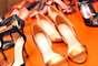 """Flávia Alessandra assinará uma coleção mensal de sapados da Shoes4you. """"Escolhi modelos com tiras finas para a primeira linha, porque acho que eles deixam os pés mais femininos e sensuais"""", justifica a atriz"""