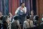 """Ricky Martin se robó el show cantando vestido como el Che, personaje del musical """"Evita"""", en los Tony Awards, realizados en el Beacon Theatre de Nueva York."""