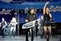 """Alessandra y Chacho Gaytán ofrecieron un concierto íntimo para presentar su disco """"Zona Preferente"""", álbum que marca el regreso de Sentidos Opuestos a la escena musical."""