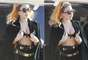 """Como que a Lady Gaga se le olvidó ponerse una camisa, pues aunque intentó ocultarlo, fue captada usando sólo un brasier, cuando salía del aeropuerto de Melbourne, rumbo a Perth para continuar con el """"Born This Way Ball Tour"""" por Australia."""