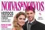 Jonas Sulzbach e Renata Dávila, que participaram da décima segunda edição do reality show Big Brother Brasil, da Globo posaram de noivos para a revista Noivas&Noivos
