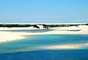 Lençóis Maranhenses, MA: a 250 de São Luís, capital do estado, os Parque Nacional dos Lençóis Maranhenses tem 270 km² de dunas e lagoas de água doce formadas pela acumulação das chuvas e criando paisagens impressionantes. Paraíso ecológico, o parque tem também rios, manguezais e belas praias