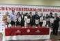 En presencia de la administradora Rocía Chávez y el ex jugador José Luis Carranza se anunció a los nuevos sponsors de Universitario de Deportes.