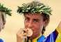 María Luisa Calle se llevó la medalla de bronce en los juegos de Atenas 2004 en la prueba de ciclismo en pista