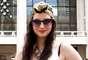 As lentes coloridas também encontram espaço nos óculos preferidos dos fashionistas